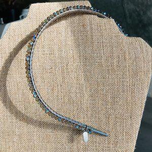Renee Rivera Silk & Crystal Headband NWT